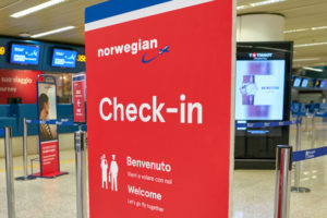 Norwegian Airlines check in