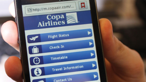 Copa Airlines Web Check in