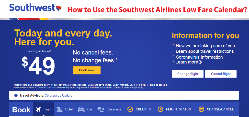 southwest-airlines-low-fare-calendar