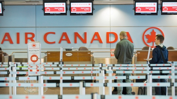 Air Canada mobile Check in